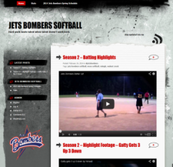 jets bombers softball
