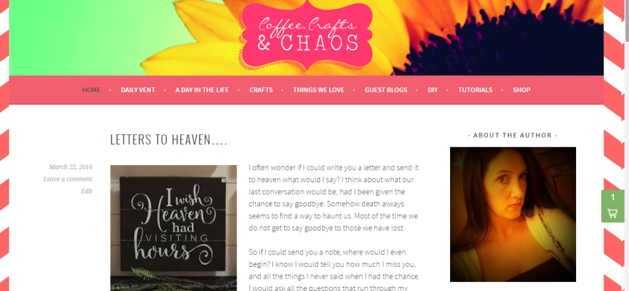 diy, mom blog, crafts, coffee-crafts-chaos
