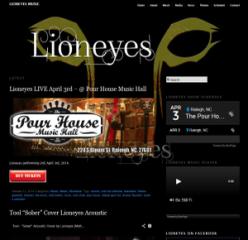 lioneyes music