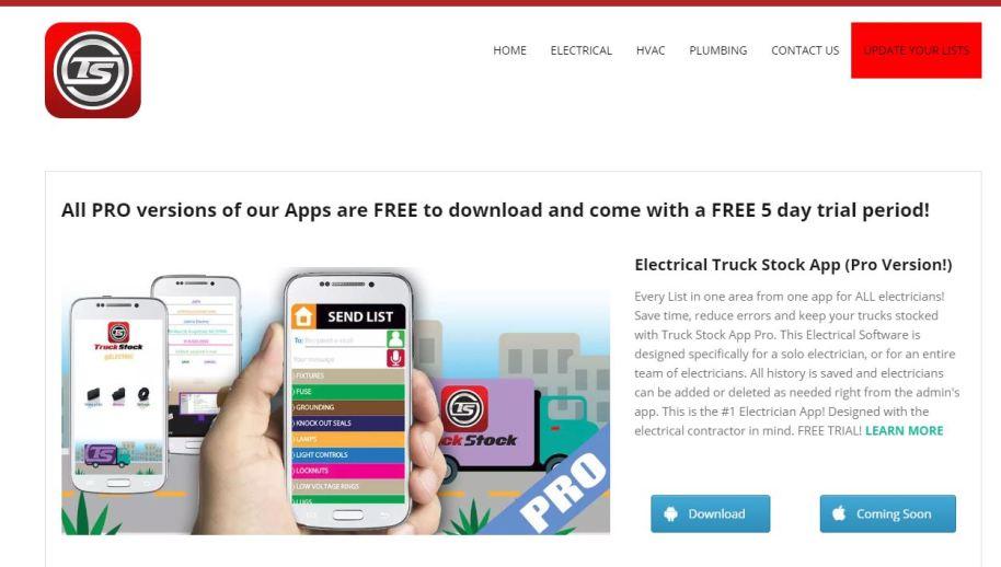 truck stock app