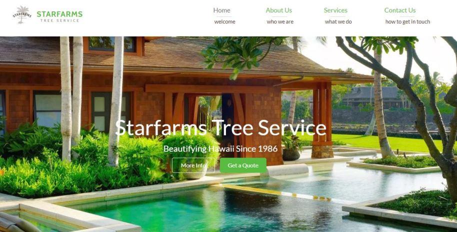 tree service hawaii, starfarms hawaii, tree service oahu